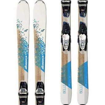 Nordica Belle 78 FDT + Squire Compact 11