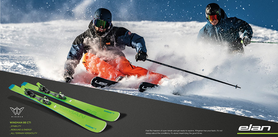 Elan Wingman all-mountain ski