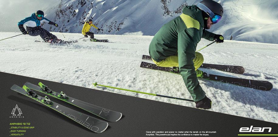 Elan Amphibio 18 Ti2 et Elan Ambpibio 16 Ti meilleur ski 2020 a meilleur prix